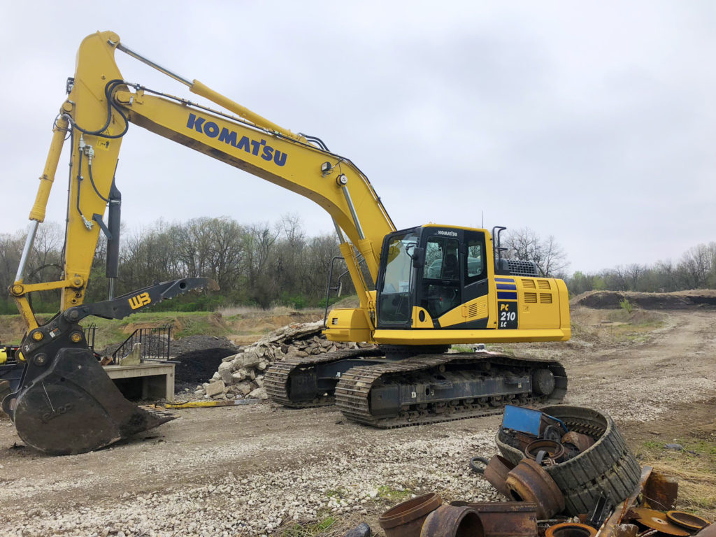 Hutchins Excavating Equipment