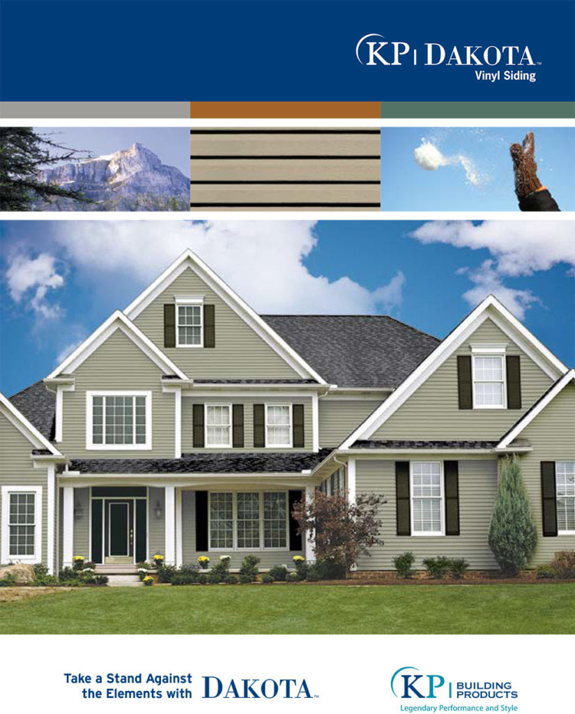 KP Siding: Dakota by Midwest Siding & Windows