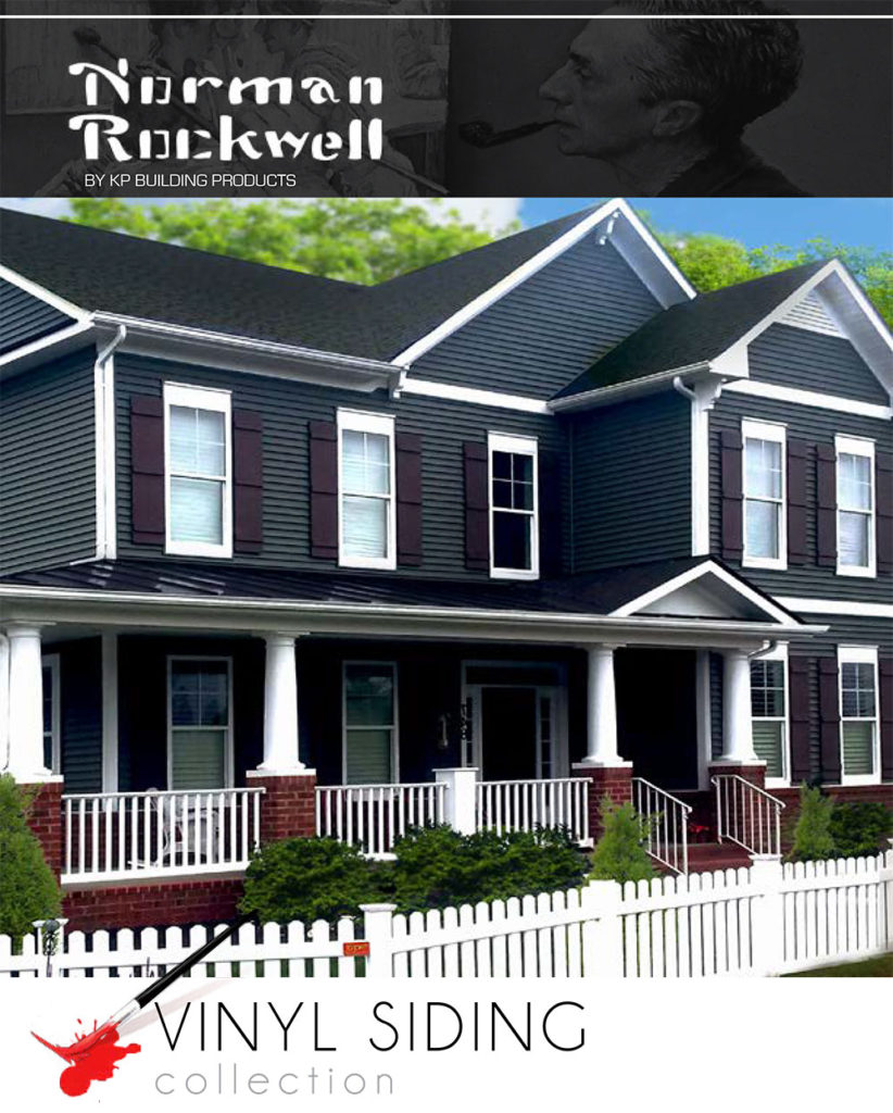 KP Siding: Norman Rockwell by Midwest Siding & Windows