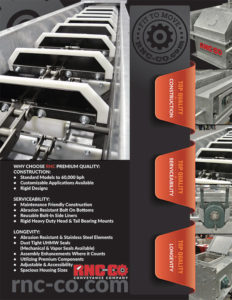 RNC Clean Flow Conveyor Literature